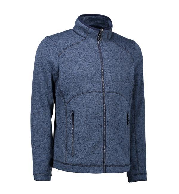 Zip in Mix Melange Damen Fleece | 0848
